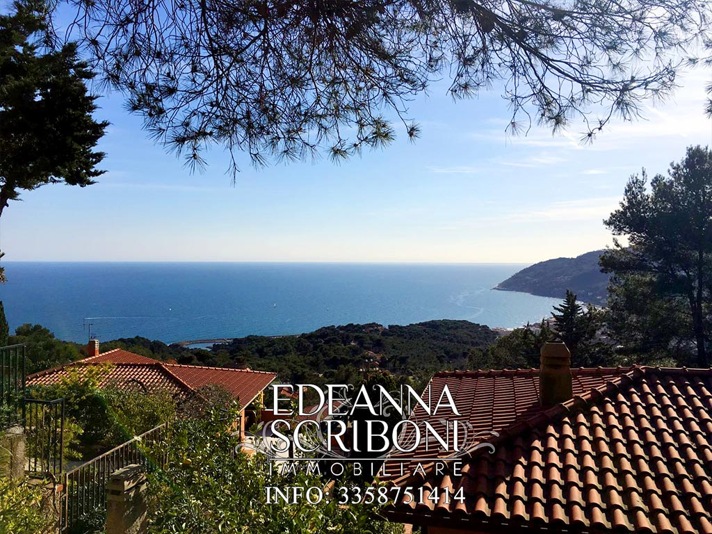 Typical Ligurian Villa for sale in Andora, with Garden and seaview