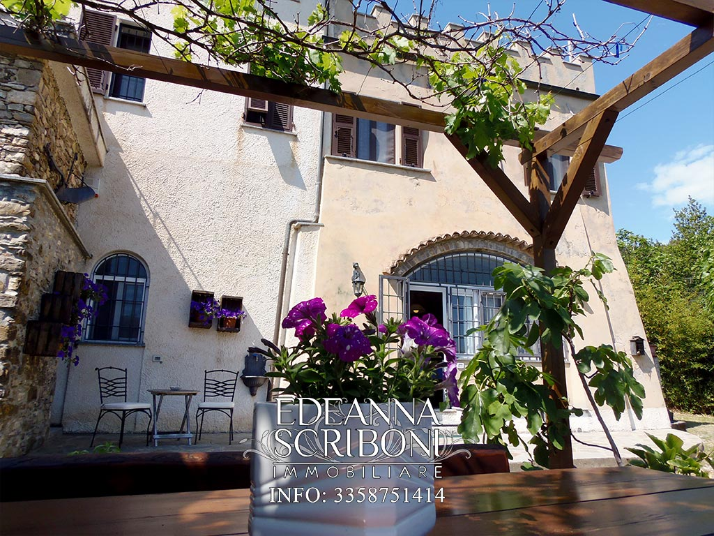Ancient, two-bedrooms tower for sale in liguria, andora, newly refurbished